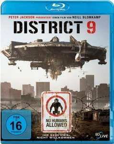 District 9 [Blu-ray] für 5,39 € @ amazon.de