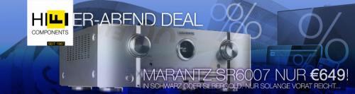 Marantz SR6007 für €649 (mit Gutschein knapp €250 weniger!)