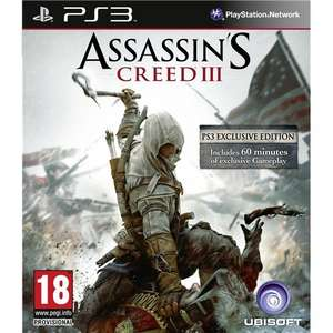 PS3/XBox360 – Assassin's Creed 3 für €21,15 [@TheHut.com]