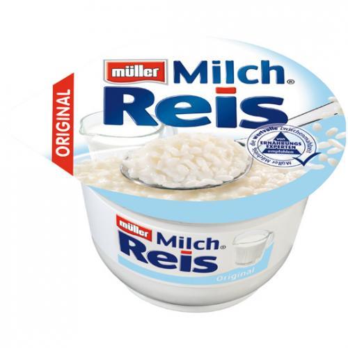 Müller Milchreis  -  klassisch oder leicht & lecker [LIDL bundesweit]