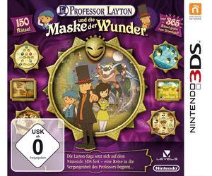 Professor Layton und die Maske der Wunder (3DS)