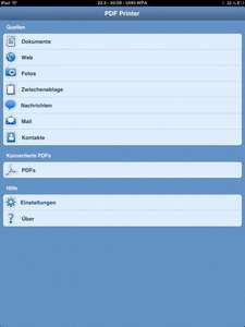 [iOS] PDF Printer for iPhone (iPad?) statt 2,69€ (5,49€)