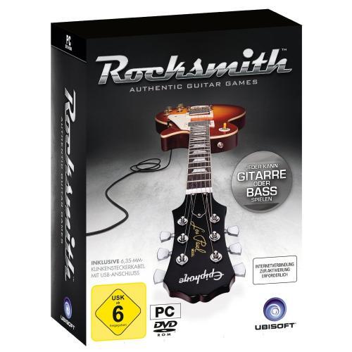 Rocksmith für PC inklusive Kabel @Amazon.de für 38,97 Euro (PS3 und XBOX 47,97 Euro)