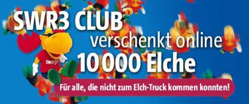 SWR3-Elch für die ersten 10.000