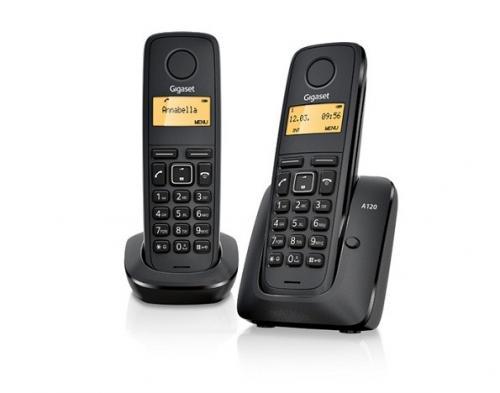 GIGASET A120 DUO FESTNETZ TELEFON