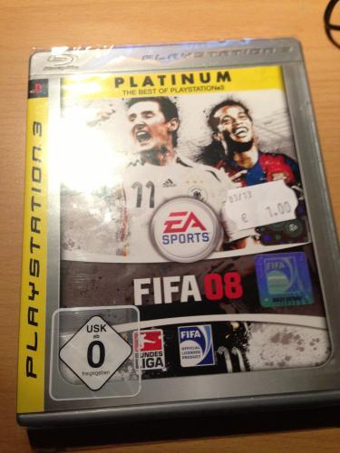 [lokal] Fifa 08 Platinum PS3 @Saturn Dortmund-City