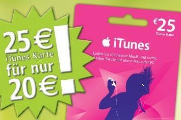 [offline] Ituneskarte im Wert von 25€ für 20€ @ Rossmann