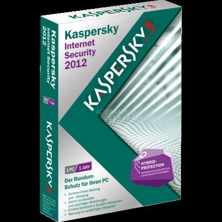 Kaspersky InternetSecurity 2012 für 14,99 bei Zackzack.eu