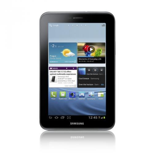 Samsung Galaxy Tab 2 GT-P3110 8GB, WLAN, 17,8 cm (7 Zoll) - Titanium Silver - 159 Euro