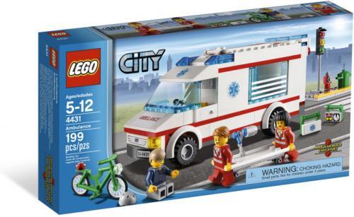 [Rossmann] Lego City Krankenwagen 4431, anstelle 19,99 zu 14,99