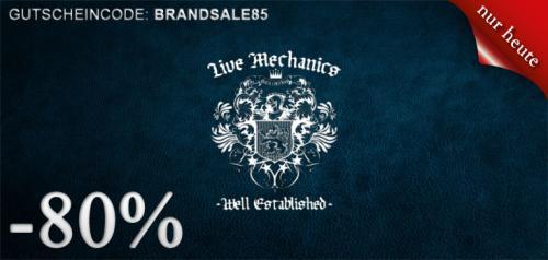 """80 % Rabatt auf """"Live Mechanics"""" und auf  """"Hoodbabes"""" bei Hoodboyz.de"""