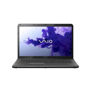 Sony Vaio SVE1712T1EB.G4 43,9 cm (17,3 Zoll) Notebook (Intel Core i5 3210M, 2,5GHz, 6GB RAM, 750GB HDD, Radeon HD 7650M, Blu Ray, Win 8) schwarz