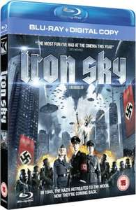 iron sky blu-ray + digital copy @ zavvi