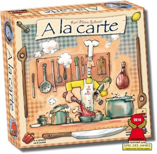 Brettspiel Schnäppchen bei Weltbild, z.B A la Carte ab 10,94€ , Dominion für 18,94€ und weitere