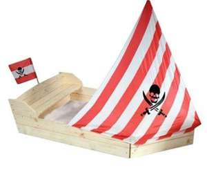 """(Rossmann Online)   Sandkasten in Bootsform """"Pirat"""""""