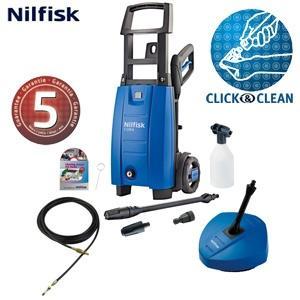 Nilfisk C120.6-6 PCD X-Tra Hochdruckreiniger mit 120 bar, 8m Abwasserschlauch und 5 Jahre Garantie @ iBOOD