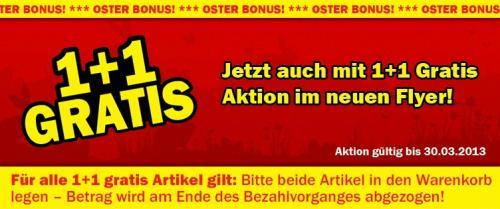[Österreich] MediaMarkt: Oster Bonus 1+1 Gratis ab 4.99€