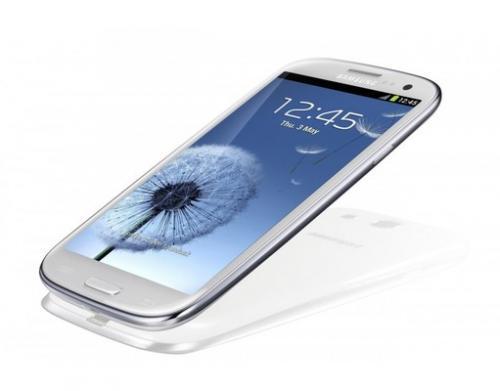 Samsung Galaxy S III i9300 marble-white