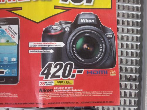 NIKON D5100 + 18-55mm VR 420€ - BERLINWEIT OFFLINE LOKAL!