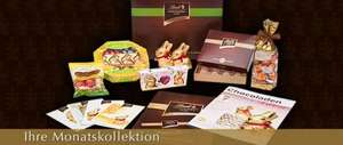 """2x """"Lindt Chocoladen Club""""-Genießerpaket"""" mit 11€ Cashback und 10€ Willkommensrabatt"""