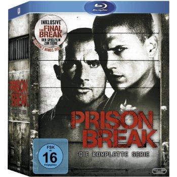 [wieder da] Prison Break - komplette Serie 53,99€ Blu-Ray @ buecher.de