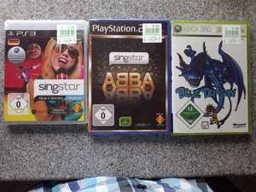 Singstar PS3/ PS2 (Made in Germany/ABBA) und XBOX (Blue Dragon) Lokal Kaufland Neckarsulm bei Heilbronn