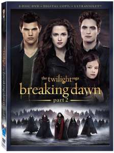 [Amazon] Twilight Breaking Dawn - Bis(s) zum Ende der Nacht - Teil 2 (Fan Edition) DVD