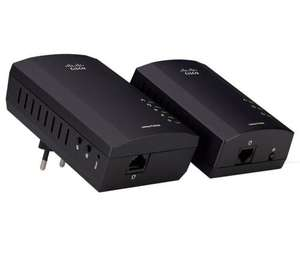 Linksys PLWK400 Powerline Wireless Network Extender Kit (200Mbps)  Pixmania