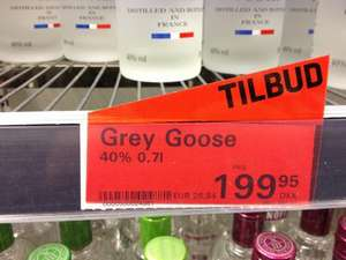 [offline] Grey Goose Wodka 0,7 Liter @ Fleggaard Harrislee