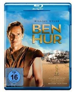 [Amazon/Blu-ray] Ben Hur, Vom Winde verweht, Casablanca für je 7,97 Euro