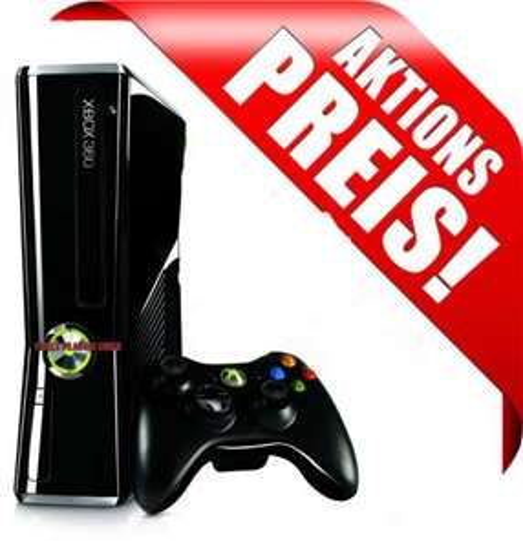 Microsoft Xbox 360 - 250GB - Slim Konsole inkl. 1 Original Contr. - FULL HD - HDMI für 116,99€