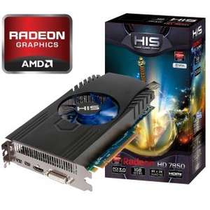 1024MB HIS Radeon HD 7850 GDDR5 Aktiv PCIe 3.0 x16 (Retail)