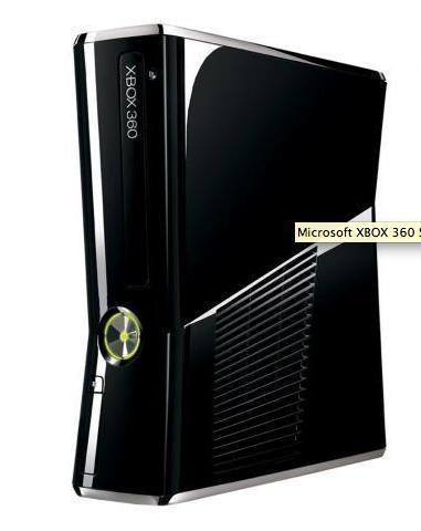 Microsoft XBOX 360 Slim 4GB, Spielkonsole