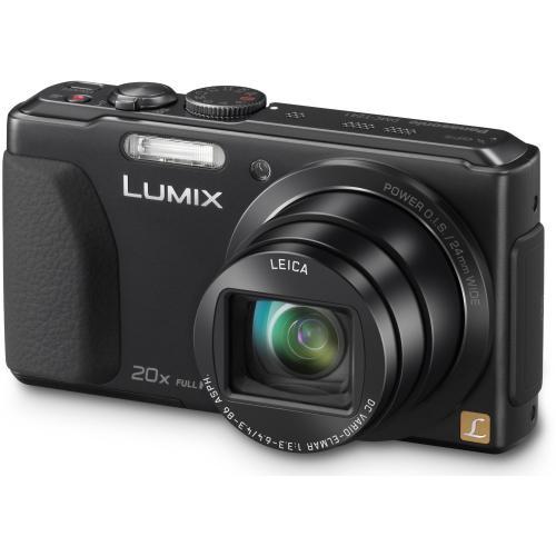 Panasonic DMC-TZ41EG-K Digitalkamera (8,1 Megapixel, 20-fach opt. Zoom, 7,5 cm (3 Zoll) Touchscreen, 5-Achsen bildstabilisator) schwarz oder rot