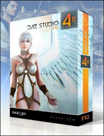 DAZ Studio 4.5 Pro 3D-Software für lau statt 249$