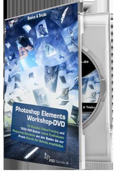 Photoshop Elements-Workshop-DVD - Basics & Tricks für 3.95 Euro