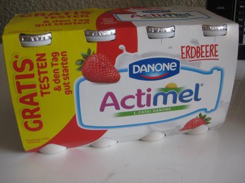 GRATIS - 8x 100ml DANONE Actimel Drink (verschiedene Sorten)