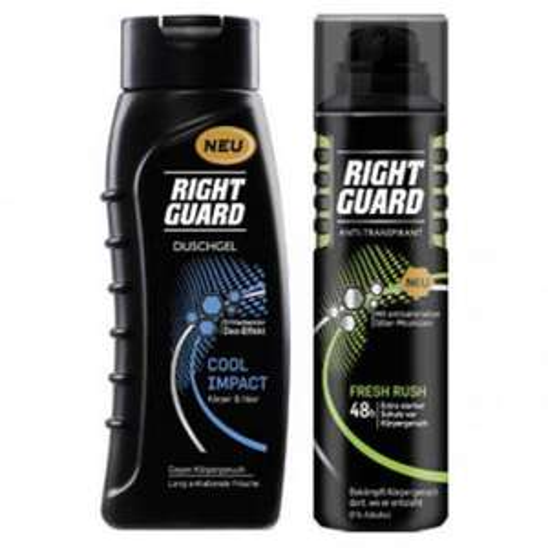 2x Right Guard Duschgel und/oder Deospray kostenlos testen