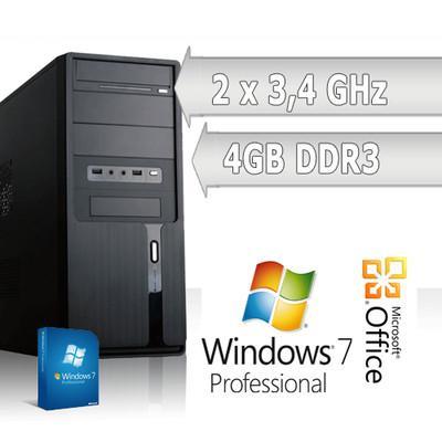 AMD Desktop mit Win 7 64bit 320GB HDD 4GB RAM (neu, Garantie) [ebay wow]