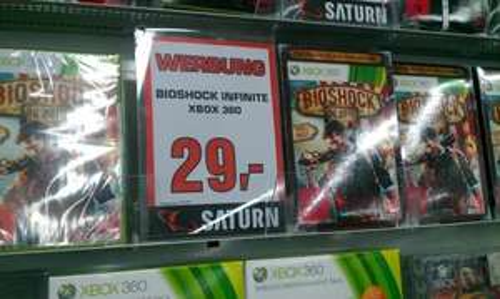 BioShock Infinite (PS3/Xbox 360) für 29 Euro bei Saturn in Hamburg und Köln