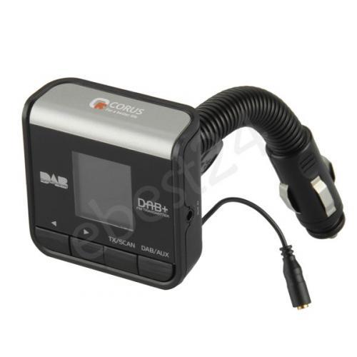 CORUS Digitales Autoradio DAB+ FM Transmitter MP3 Player für KFZ Auto PKW LKW nur 62,29 Euro inkl. Versand