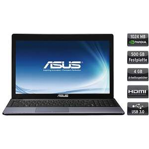 "Asus™ - 15.6"" Notebook ""F55VD"" (Pentium B970,4GB RAM,500GB HDD,1GB GeForce 610M,USB3.0,HDMI,Windows 8) -B-WARE- ab €336,30 [@Karstadt.de]"