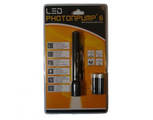 LINK FUNKTIONIERT NICHT, BITTE LÖSCHEN - LED LENSER PHOTONPUMP 6 + Batterien @meinpaket inkl. Versand 4,99€