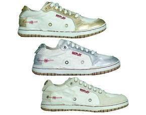 REPLAY Sneaker Dico Canvas Damenschuhe, Gr. 36-41 @ MP