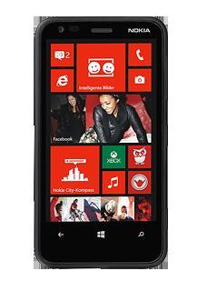 CallYa Countdown: Nokia Lumia 620 schwarz (Donnerstag bis einschließlich Samstag)