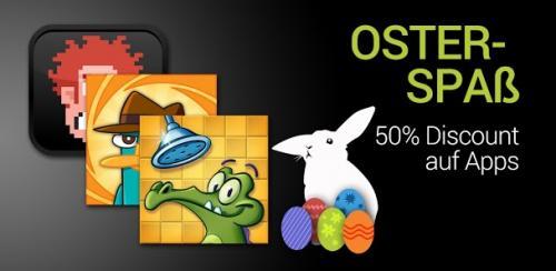 [Android] Oster-Spass im Google PlayStore - 50% auf Disney Games - EA Games reduziert - AndroidPIT App der Woche SwiftKey Tablet für 1.69€