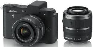 Nikon 1 V1 EVIL Doppel-Kit 10-30mm und 30-110mm    349€ bei Redcoon