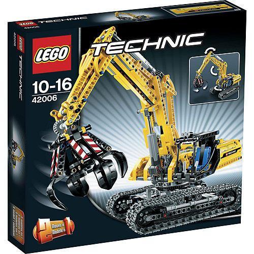 LEGO 42006 kleiner Raupenbagger 40,94 € @ karstadt.de