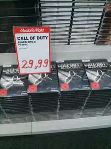 [Lokal] Media Markt Osnabrück - Call Of Duty - Black Ops 2 Steelbook Edition für den PC