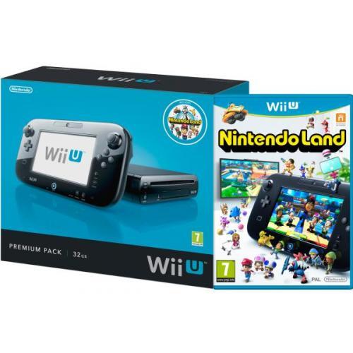 Karfreitagsangebot  Saturn  NINTENDO Wii U - Premium Pack, 32 GB, schwarz für 249€ inkl. Nintendo Land